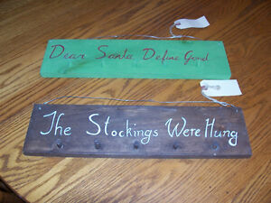 Christmas Stocking Hangers $15 EACH