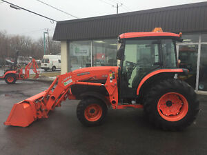 Kubota L5740 Cabine + chargeur+ 2 sorties * Seulement 380 heures