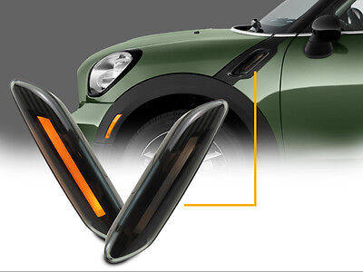 Light Bar LED Smoke Fender Side Marker Lights For Mini Cooper R60/R61 Countryman