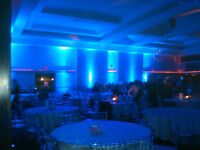 MISSISSAUGA - GTA UP-LIGHTING FOR YOUR NEXT EVENT