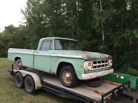 1968 Dodge Sweptline D100 Pickup Truck Mopar