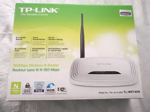 TP-Link Wireless N 150Mbps 2.4GHz Router