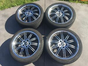 5x114.3 wheels 5 stud with tyres Liverpool Liverpool Area Preview