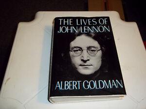 Lives of John Lennon. Hard Cover Book by Albert Goldman