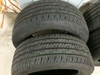 4 Continental ContiProContact tires 235/55R17 only 3500 km