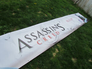 Assassin's Creed Banner - HUGE ! 20 feet long. New in box.