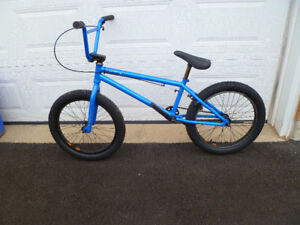 Premium Solo freestyle BMX - blue
