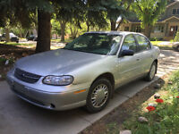 2003 Chevrolet Malibu.  Low KM!!!