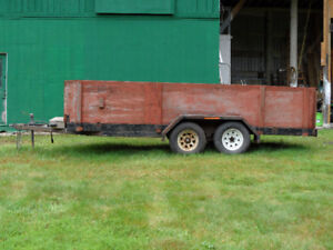 FOR SALE HITCHMAN TRAILER