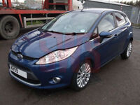 2010 Ford Fiesta 1.6 Titanium DAMAGED REPAIRABLE SALVAGE