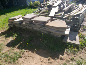Cement Patio Pads