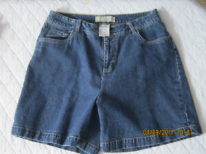 2 pairs Jean Shorts-1 Casual Brown $15.00 for the 3 or $5.00 ea.