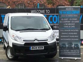 2014 14 CITROEN DISPATCH 1.6 1200 L2H1 HDI ENTERPRISE 6D 89 BHP PANEL VAN DIESE