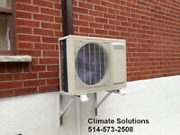 Thermopompe - Climatiser Mural/ Heat Pump - AC wall units/ -20C