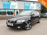 2012 Volvo V50 1.6D ( s/s ) 2012MY DRIVe SE ZERO ROAD TAX 70+MPG DIESEL ESTATE