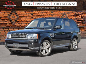 2010 LAND ROVER RANGE ROVER SPORT 4WD - SUPERCHARGED *CERTIFIED*