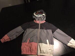 Boys volcom fall jacket sz 5