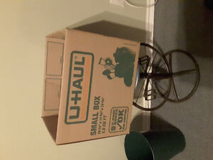 25 moving cardboard boxes - used once