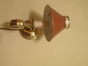 CUTE WALL LAMP North Shore Greater Vancouver Area image 1