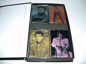 Elvis Presley - Close Up (2003) coffret de 4 cassette audio ROCK