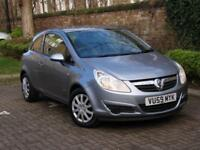 FINANCE AVAILABLE!! 59 REG VAUXHALL CORSA 1.2 i 16v CLUB 3dr ONLY 21000 MILES,