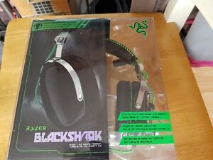 Razer Blackshark expert 2.0 gaming headset.