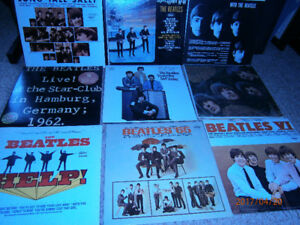 Beatles vinyl record collection includes Sgt. Pepper's LHCB