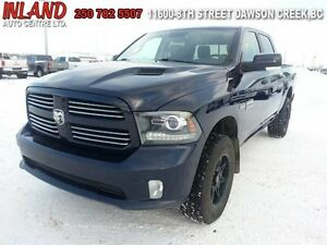 2013 Ram 1500 Sport  Auto,Nav,Rear Camera,Short Box,Leather,Sunr