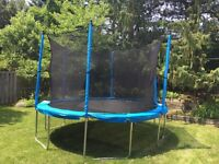 Trampoline with enclosure combo 12ft ( 365 cm )