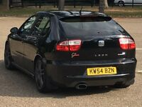 2005 SEAT LEON CUPRA R BAM THOUSANDS SPENT 280BHP LOOK PX SWAP