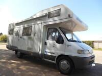 SOLD MORE REQUIRED HYMER CAMP 644G LHD 6 BERTH GARAGE MOTORHOME FOR SALE
