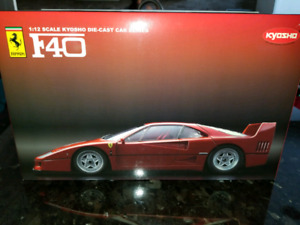 SOLD 1:12 Diecast Kyosho Ferrari F40 Red Extremely Rare