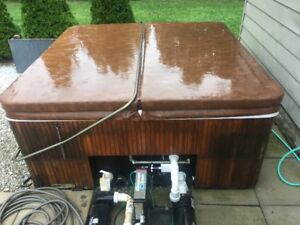 Free Hot Tub, If you pick it up.