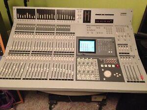 Tascam Digital Console + 3 8-Track Digital Recorders