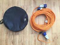 25 metre Motorhome and Caravan 2.5mm electric hook up cable