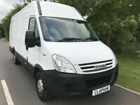 2010 10 IVECO DAILY LWB 2.3 DIESEL WHITE 80,000 MILES 2 PREVIOUS OWNERS NO VAT