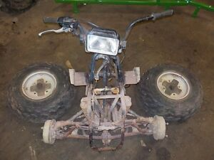BUILD YOUR OWN GO CART FRONT END PARTS GREAT FOR PROJECT