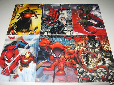 2009 Spiderman Archives 81 Card set and 9 Card Lenticular Chase Insert set