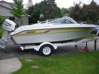 1991 Regal bowrider with 2000 Evinrude 150 hp