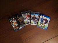 Mixed PlayStation games