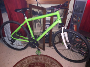 NORCO INDIE 2 IN LIME GREEN OVER SIZED