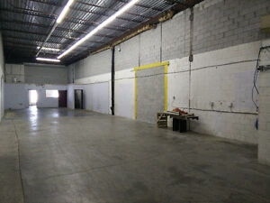 Montreal Warehouse for Sublease