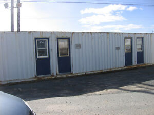 40' job site office container