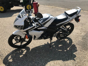 Honda Motorcycle with only 2300 km!