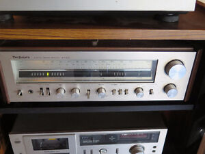 Technics SA-303 Stereo Receiver (amplifier and tuner) vintage