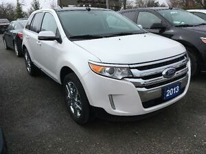 2013 FORD EDGE LIMITED AWD IN WHITE PLATINUM