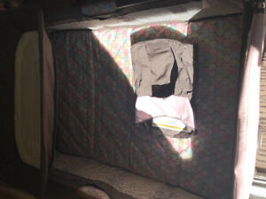 Graco Playpen with diaper change section