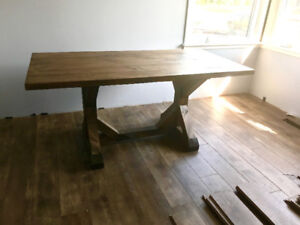 Custom rustic chic high quality solid wood tables and more