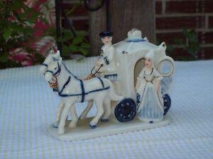 Cinderella carriage coach, porcelain