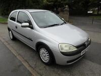 VAUXHALL CORSA 1.2i 16v AIR CON COMFORT GREAT VALUE READY TO DRIVE AWAY